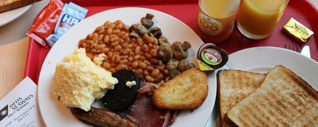 Engelsk matkultur